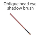 Oblique head eye shadow brush face makeup tool