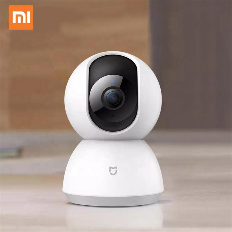 원래 Xiaomi 스마트 홈 IP 카메라 미 홈 보안 카메라 360 1080P HD 360 전체보기 홈 CCTV 보안 카메라