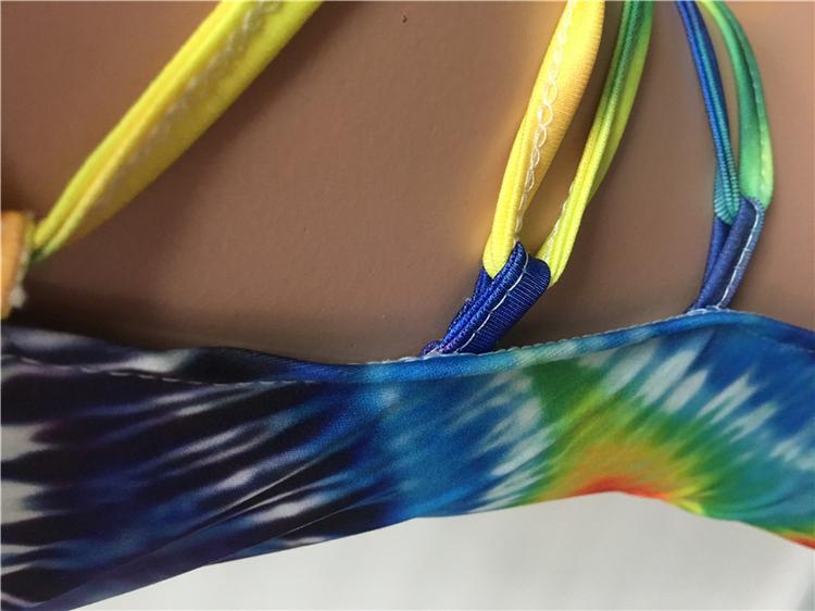 Deat — combinaison à bretelles avec imprimé amazon M10443, tenue à motif uni, nouvelle collection 2020