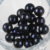 14mm Large Size Dyed  Dark Black Color Big Edison Loose Pearls