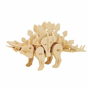 Dinosaur Series Educational Toys 3D Wooden Puzzle for Children