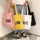 Promotion Shopping Bags Custom Logo Printed Reusable Foldable Cotton Canvas Shopping Tote Bag