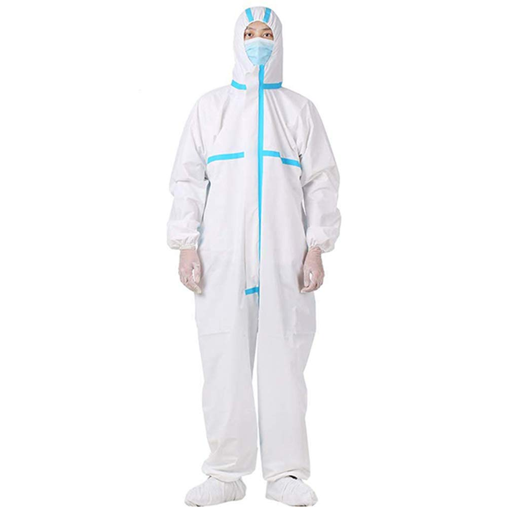 CE FDA safety isolation clothing protective gowns type 7 Disposable Coverall