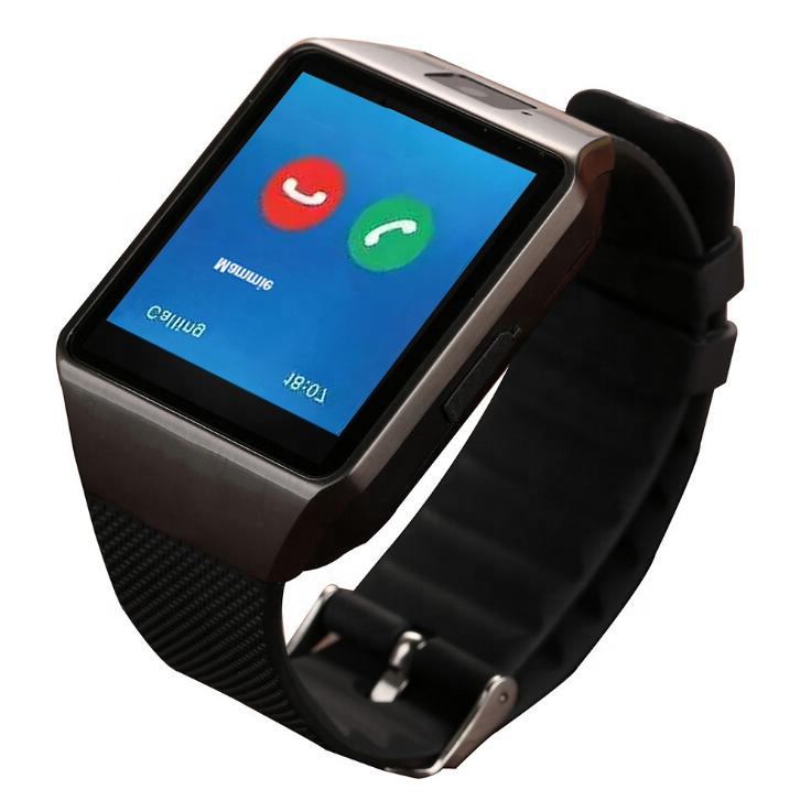 OEM Wholesale Smart Watch phone DZ09 with camera GSM <strong>SIM</strong> calling