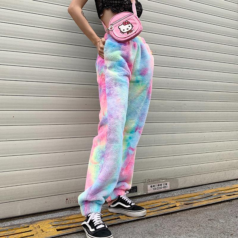 Invierno Harem Gruesa De Lana Sherpa Las Mujeres Pantalones Y Pantalones Buy Ropa Nova De Moda Pantalones Holgados De Tinte Anudado Para Dama Logotipo Personalizado Impresion De Hombres Comodo Fondo Para Mujer Product