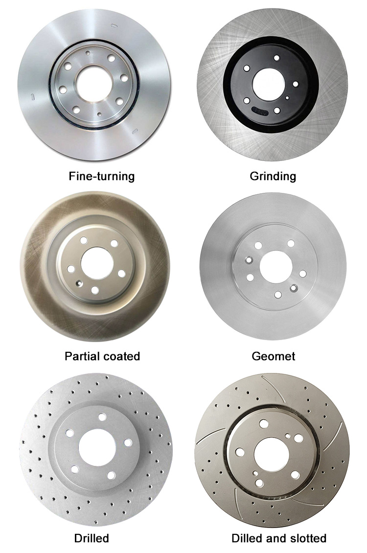 Car Parts China Brake Disc for Toyota
