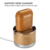 ICARER Genuine Leather Battery Charging Wireless Earphone Protective Case Cover For AirPods For iPhone