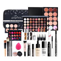 Vanecl Beginner Makeup Cosmetics Set Makeup Concealer Modification Brightening Isolation Beauty Set of 24