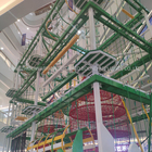Commercial Amusement Park Large Kids Indoor Paradise Indoor Playground Equipment Rope Course For Sale