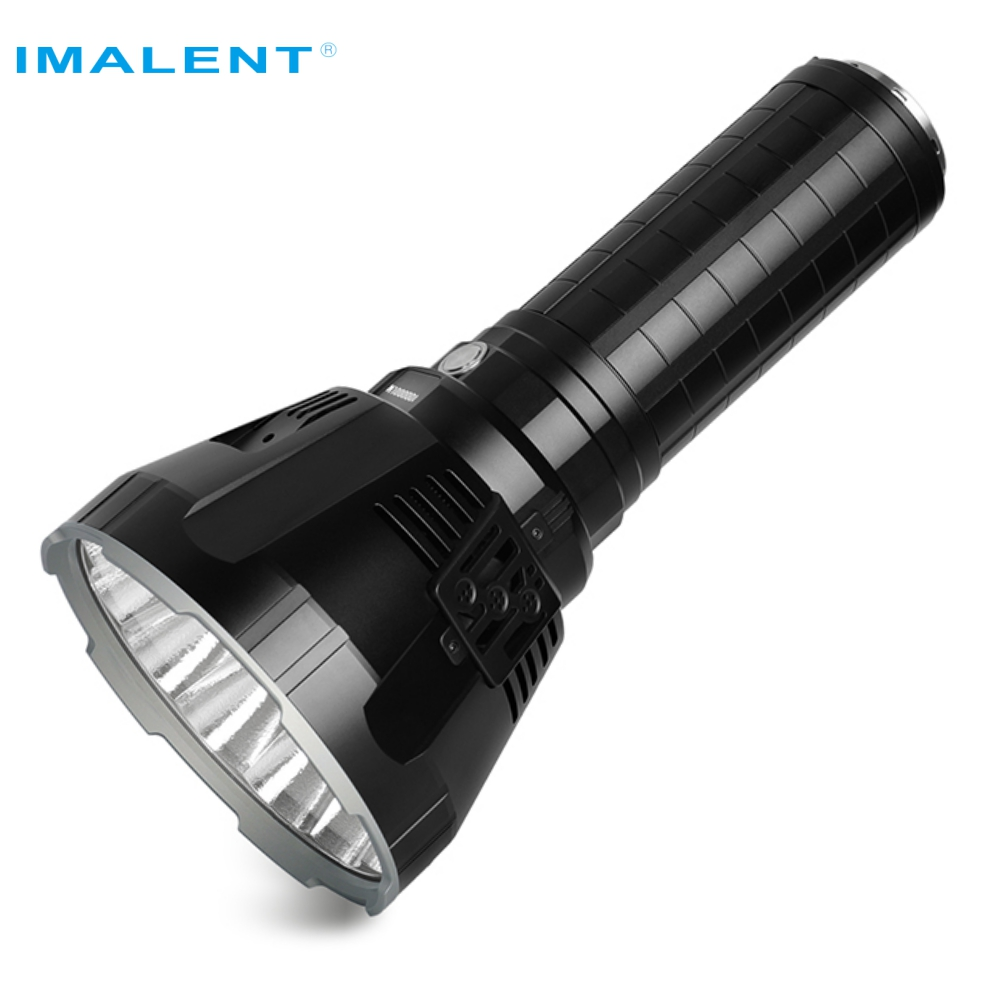 IMALENT MS18 LED Flashlight <strong>CREE</strong> XHP70 100000 Lumens Waterproof with 21700 Battery Intelligent Charging strongest flashlight