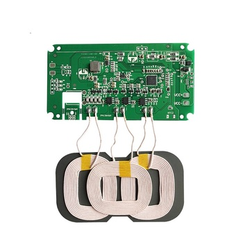 Wireless charger PCBA three-coil wireless charging board 12V car wireless charging solution can be certified