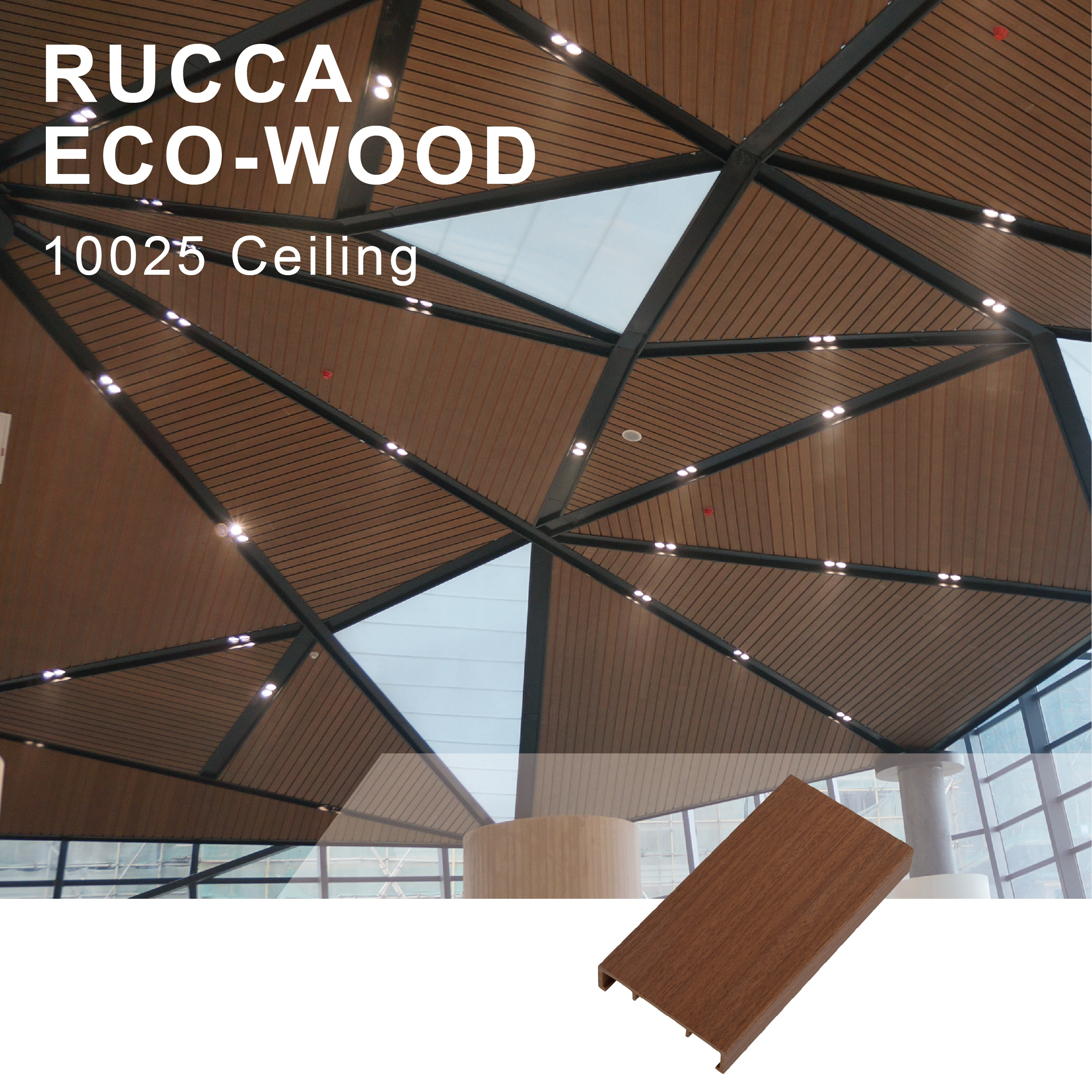 Image of: Wpc Fauxwood Modern Home Decoration Waterproof Wood Plastic Bathroom Kitchen Ceiling Panels 100 25mm Buy Wpc Modern Home Decoration Waterproof Bathroom Ceiling Panels Wood Plastic Ceiling Product On Alibaba Com