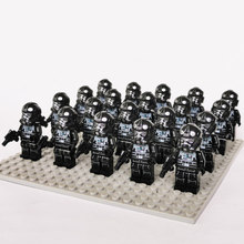 Новые Звездные войны Rebel Fleet Trooper Sw995 совместимый с legoe 75237 Tie Fighter Attack block детские игрушки 20 шт./лот(Китай)