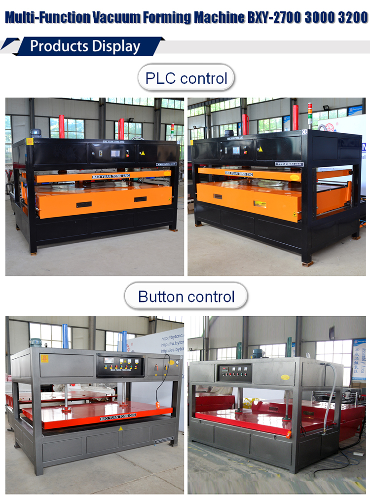 Multi function plastic acrylic ABS PC PS vacuum forming machine thermoforming machine