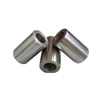 New Building Material Cold Stamping Rebar Coupler Sleeve Mechanical Bushing Mechanical Bushing
