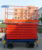 14m 500kg Hydraulic scissor lift platform mobile shear forklift machine