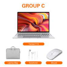 Новейший ноутбук Teclast F15 с ОС Windows 10 15,6 дюймов 1920x1080 DDR4 8 ГБ ОЗУ 256 ГБ SSD Intel N4100 четырехъядерный HDMI ноутбук(Китай)