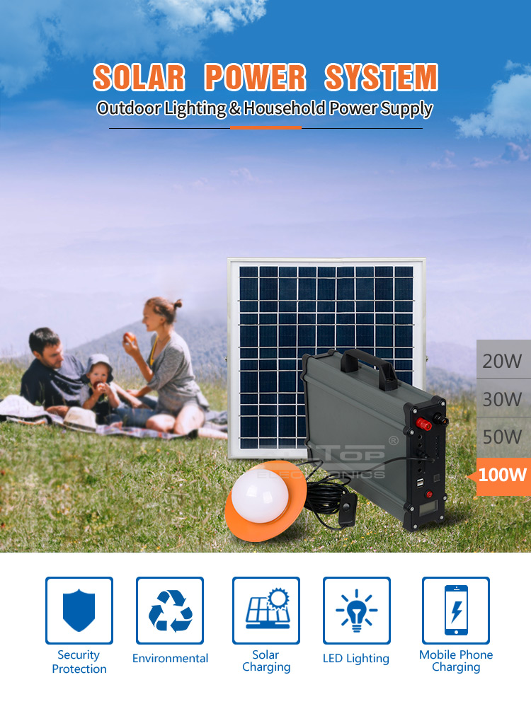 ALLTOP High quality solar eneryg system electricity generating solar power system for home