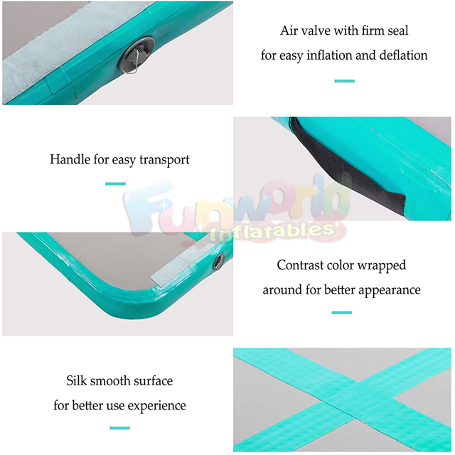 Mini airtrack 7m  home gym gymnasticnas airtrack inflatable tumbling mat