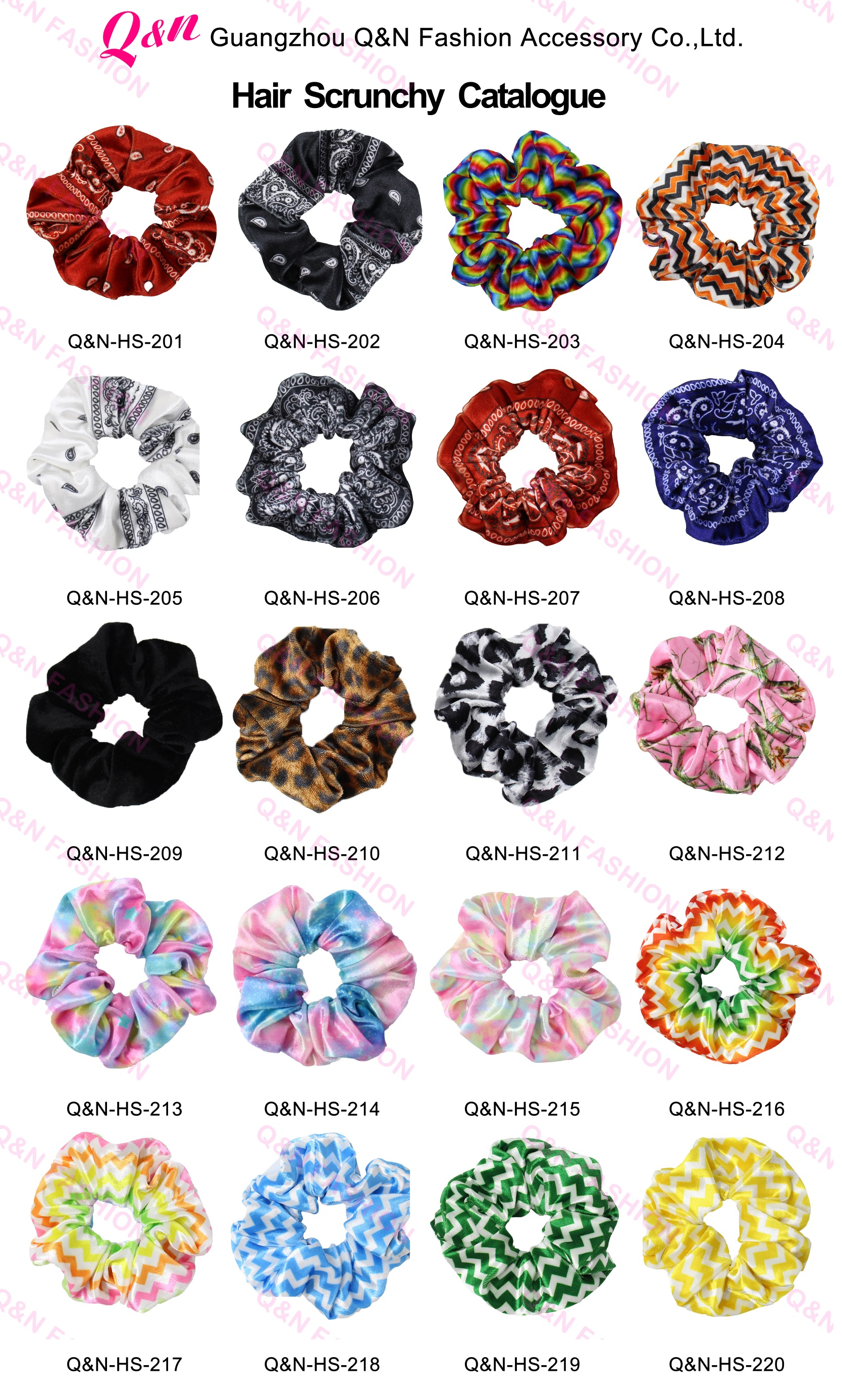 Wholesale Bulk High Quality Rubber Zipper Plaid Velvet Scrunchies With Zipper Pouch For Kids