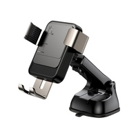 Hot Selling Wireless Charging Gravity Mobile Car Phone Holder Mount For Dashboard