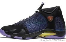 Баскетбольная обувь Nike Air Jordan 14, Баскетбольная обувь унисекс с высоким берцем, обувь для мужчин и женщин 487471-021()