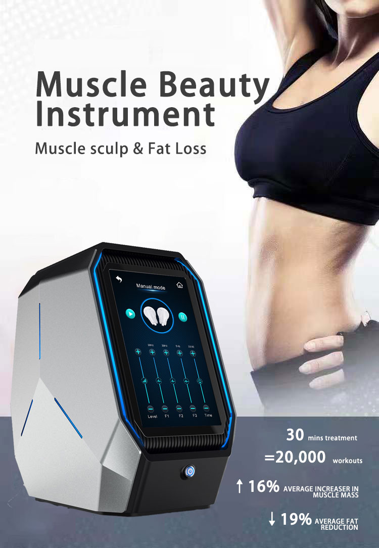 2020 New Technology Ems Muscle Building Fat Removal Powerful Body Building Machine Emsulpt