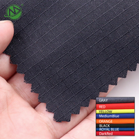 220g Navy Blue Rip Stop 50% aramid 50% FR viscose wholesale flame retardant fabric for firefighting suits