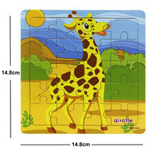 Новинка, распродажа, 38 стилей, Мультяшные деревянные пазлы для детей, животные/автомобиль, игрушка-головоломка, От 2 до 6 лет, детские развива...(Китай)