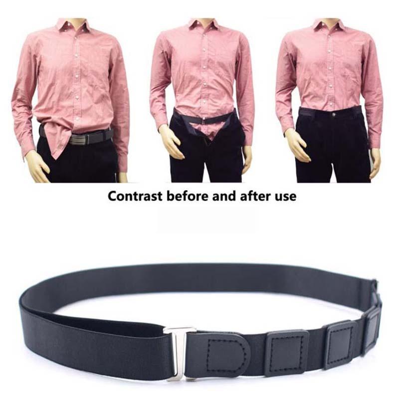 Tirantes, 2 pares (4 unidades), para mantener la camisa por