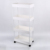 Factory price 4-tier metal rolling utility cart restaurant food service carts