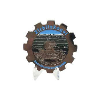 Free artwork no minimum order custom metal 3d printing challenge coin for military