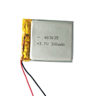 403035-380 401020 small 3.7v 450mah lion lithium polymer battery ion pack bag for detector bicycle ebike