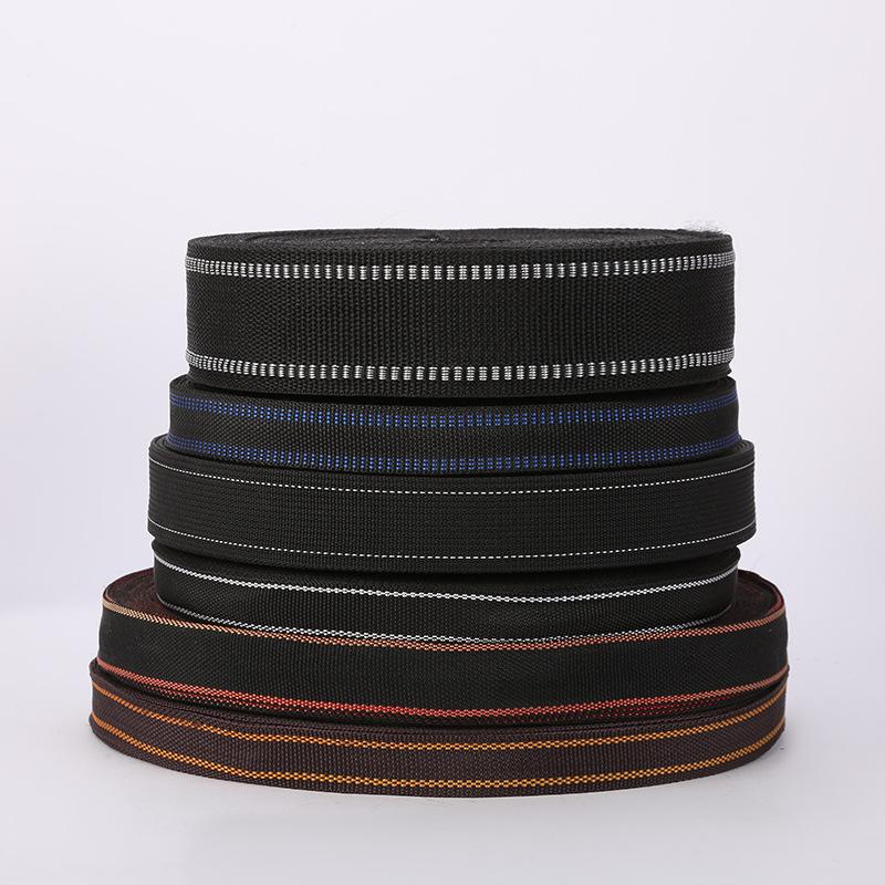 Customised size 48mm 21mm 20mm ribbon black ribbon wholesale