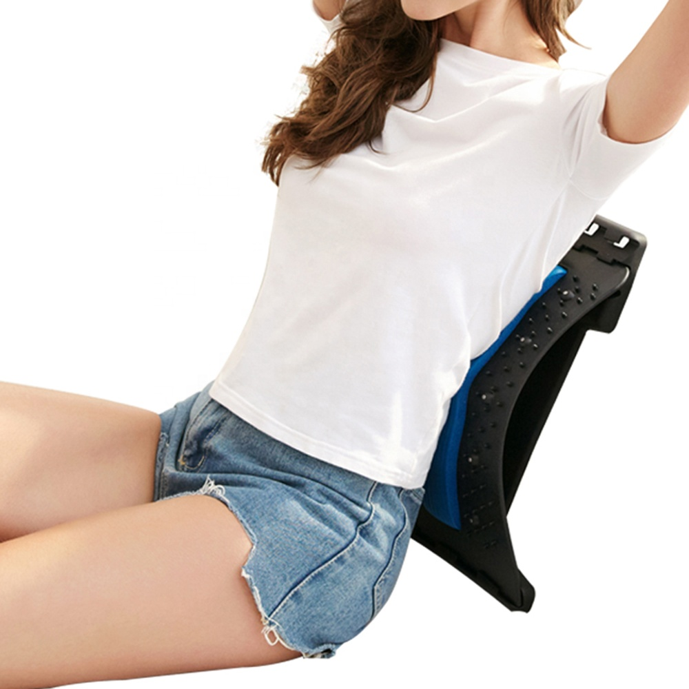 Ready to Ship Multi-Level Back Stretching Device Back Lumbar Stretcher for Upper Back Stretcher Support and Pain Relief