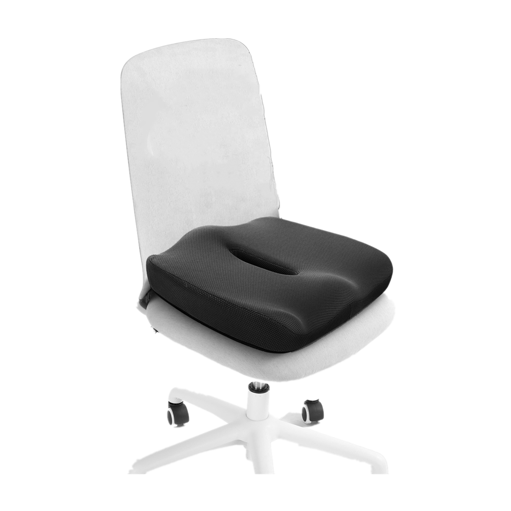 Wholesale Slow Rebound Memory Foam For Back Pain Relief Sciatica Tailbone Pain Hollow bottom seat cushion  YSDS0017