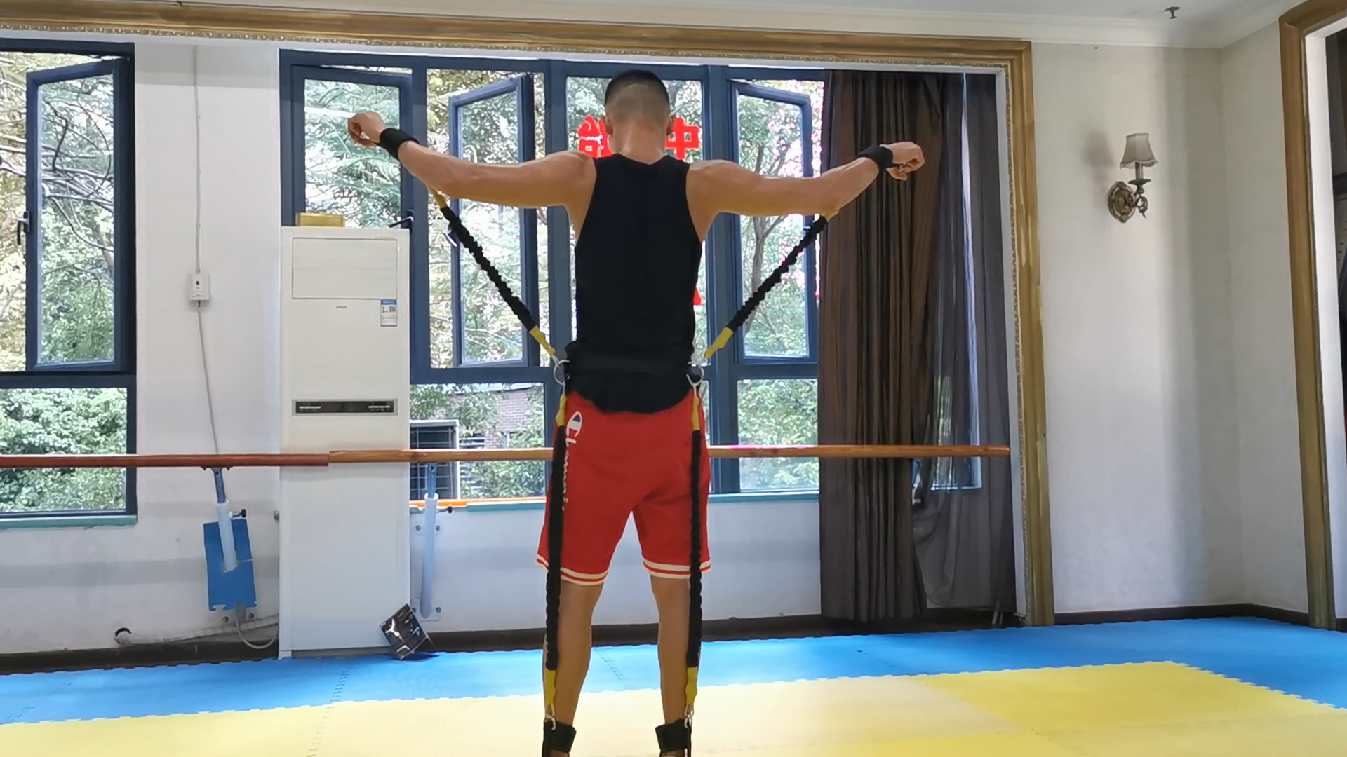 resistance band for tennis for jumping training physical training speed training