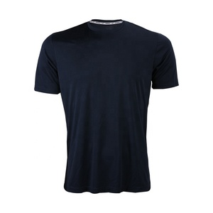Wholesale custom printed mens sport t-shirt sportswear quick dry running fitness t-shirt apparel