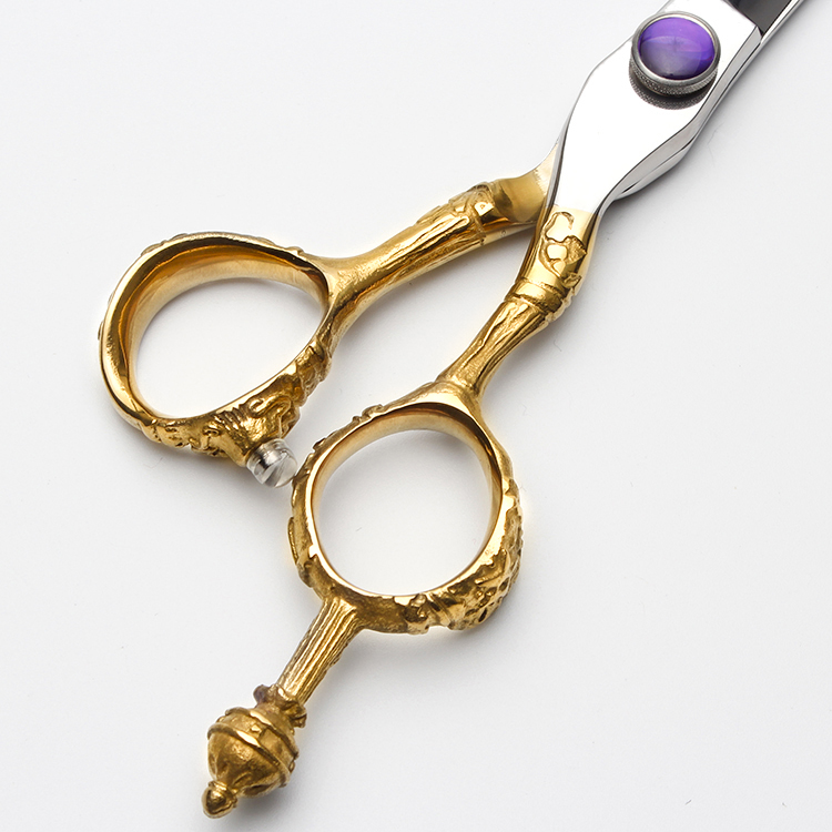 Hot Sale Gold Japan Vg10 Stainless Steel Hair Scissors