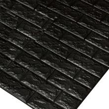 3D кирпичные настенные наклейки 600*300 мм, декор для обоев, водостойкая самоклеящаяся креативная наклейка для украшения стен спальни-1 шт.(Китай)