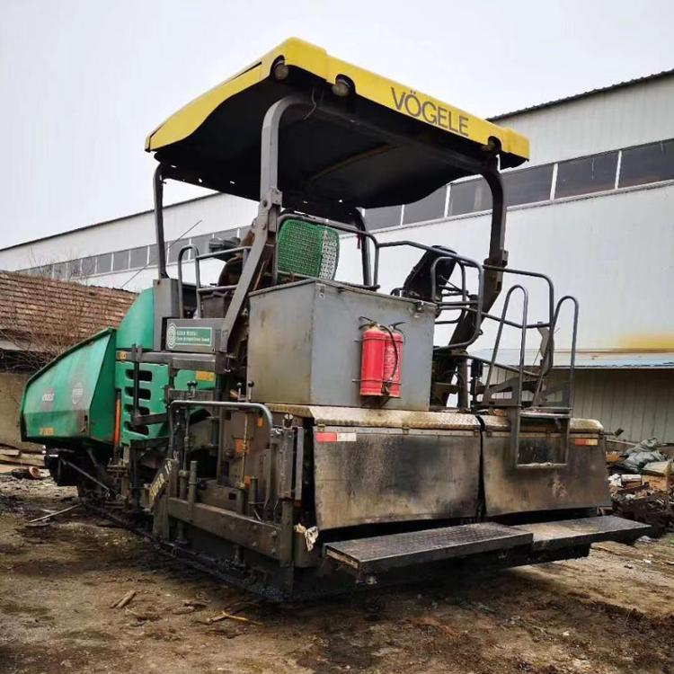 Used Hydraulic Multi-Functional Vogele Asphalt Concrete Paver for sale