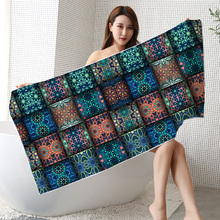 Oem Travel Sand Proof Microfiber Beach Towel Turkish Style Luxury Beach Towel Custom Beach Towel Printing