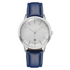 White face blue strap