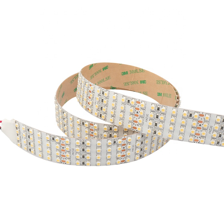CE RoHs ETL approved four rows 480leds per meter 3528smd led strip lights