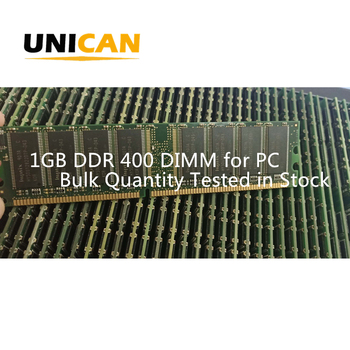 Unican 1GB DDR PC-3200 400MHZ DIMM Desktop Memory RAM