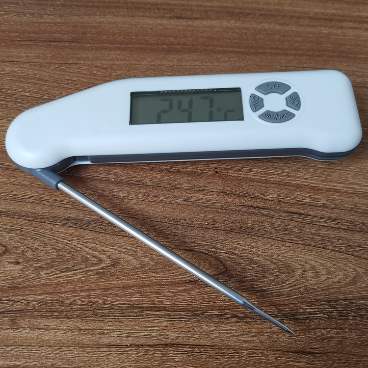 High-end Folding BBQ Meat Thermometer LCD Digital Kitchen Instant Reading Barbecue Thermometer