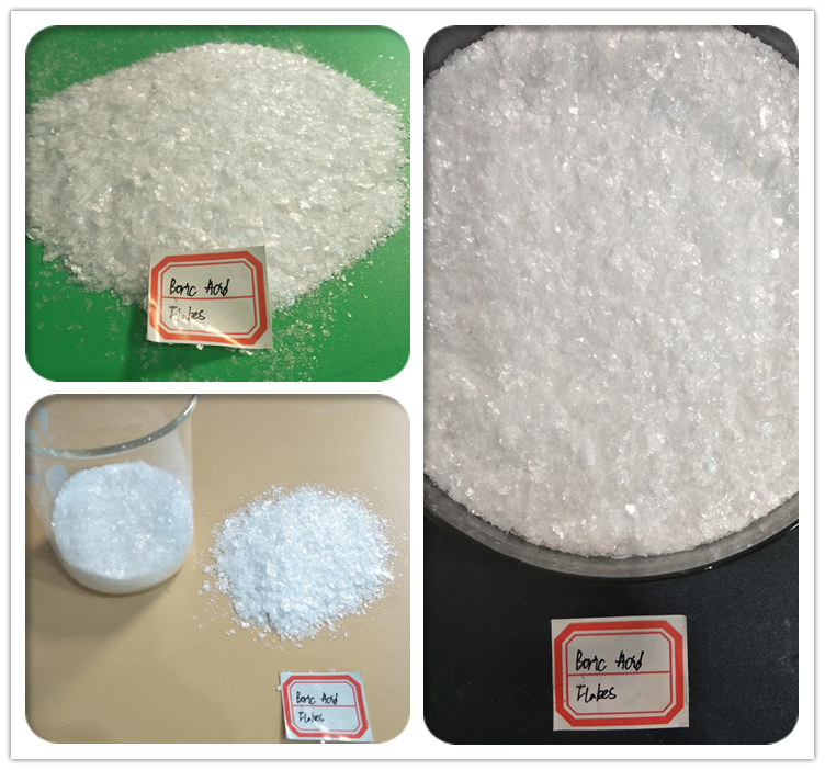 Competitives Price Per Kilograms(kgs) Boric Acid Flakes 1-3mm Magic Fishscale