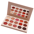 15 Colors Private Label Make Up Cosmetics Glitter Eyeshadow Palette Eye makeup kit