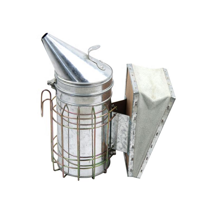 Elektrische Biene Raucher Hive Edelstahl Imker Imkerei mit Hitzeschild