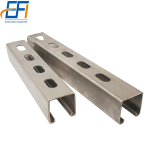 Stainless Steel Unistrut Wholesale Galvanized Metal Channel Sizes